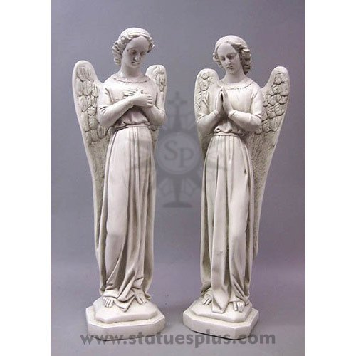 Angel Cari statue set