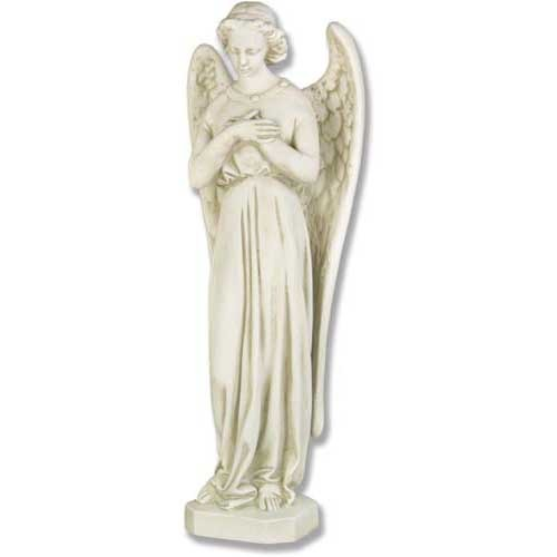 Cari Angel with arms crossed.statue