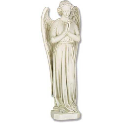 Cari Angel praying statue