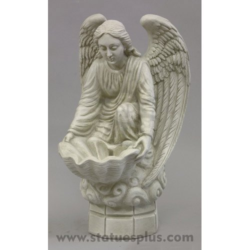 Fegana small holy water Angel statue