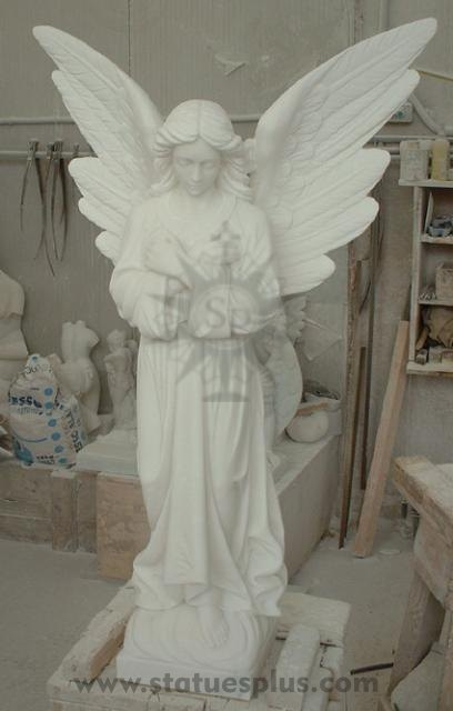 New Marble Angel Statue