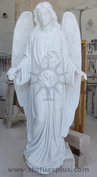 Marble Angel Statue - New!