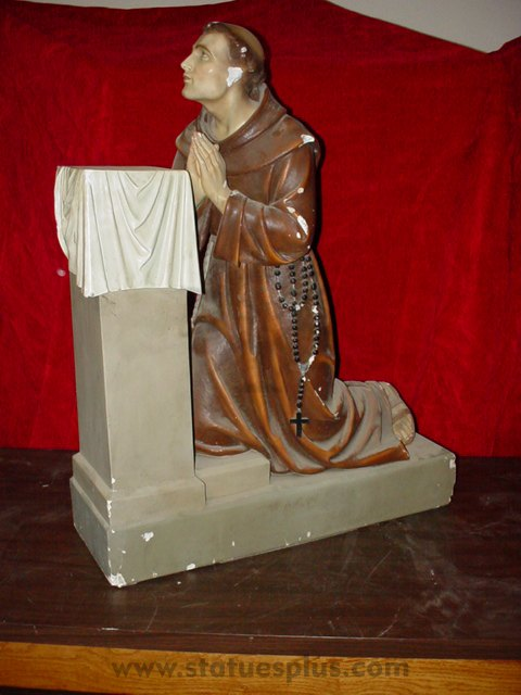 St. Anthony Kneeling
