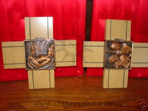 Bronze Stations of the Cross
