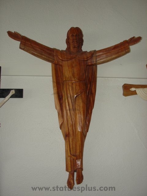 Wood Risen Christ