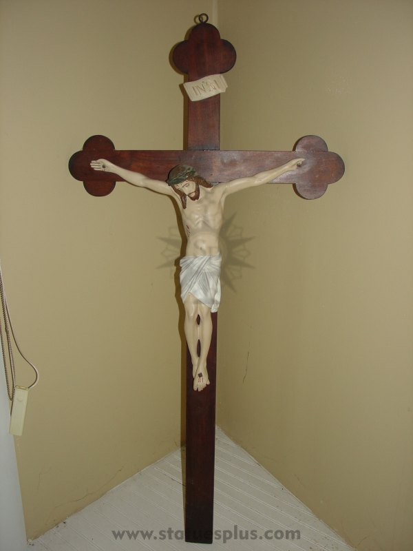 Large church size crucifix