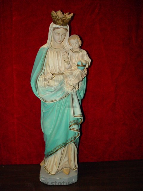 Crowned Mary with Christ Child