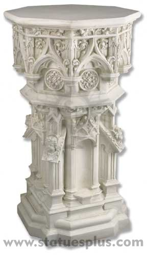 Cathedral Style Pedestal