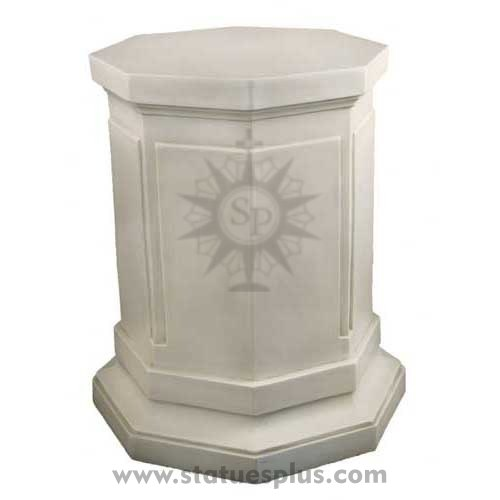 EIGHT SIDED PEDESTAL