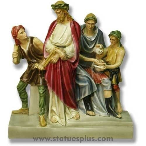 Large 3 Dimensional Stations of the Cross – Set