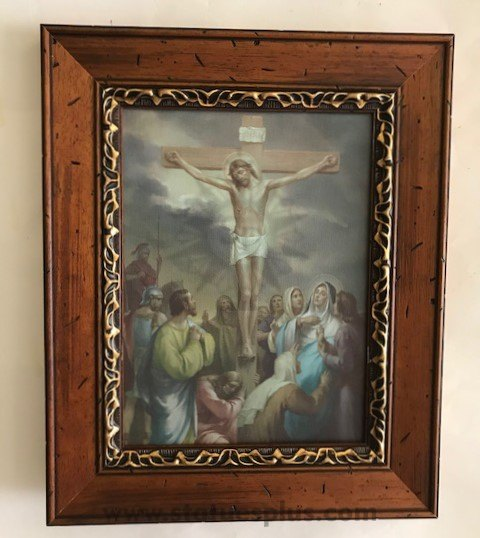 Stations of the Cross – Framed Canvas